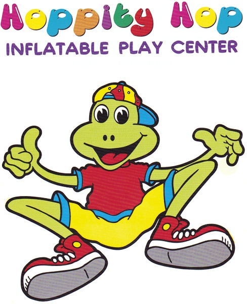Hoppity Hop Inflatable Play Center